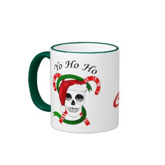 Taza de las Felices Navidad de los piratas