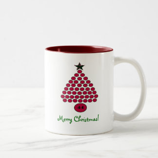 Taza de las Felices Navidad de Obama 44