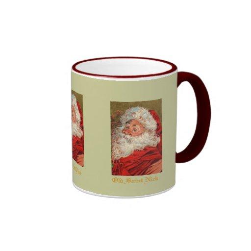 Taza de las Felices Navidad de Santa