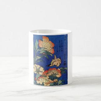 """Taza de las """"flores"""" de Hokusai"""