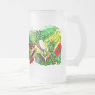 Taza de las frutas tropicales