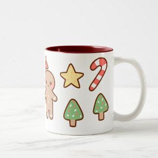 Taza de las galletas del navidad