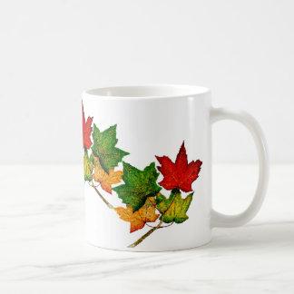 Taza de las hojas