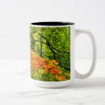 Taza de las hojas de otoño