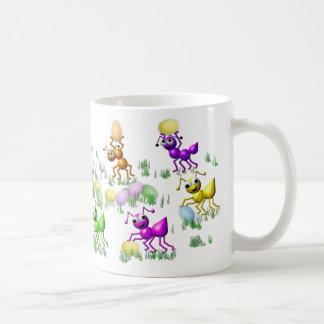 taza de las hormigas de pascua