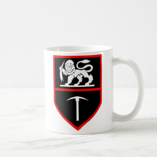 Taza de las insignias del ejército de Rhodesian