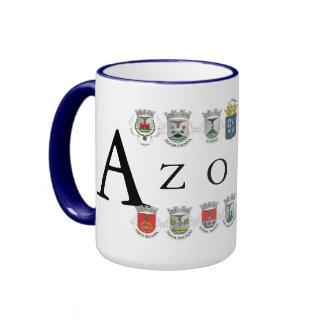 Taza de las islas de Azores*