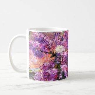 Taza de las lilas de Mary Cassatt