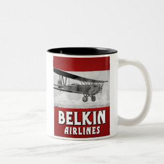 Taza de las líneas aéreas de Belkin