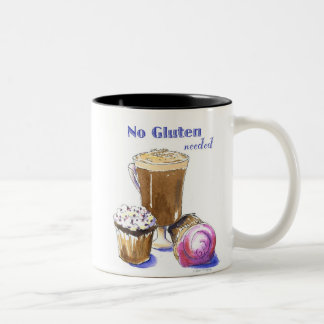TAZA de las magdalenas y del Cappuccino de GF