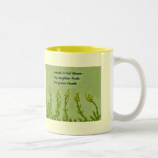 Taza de las malas hierbas