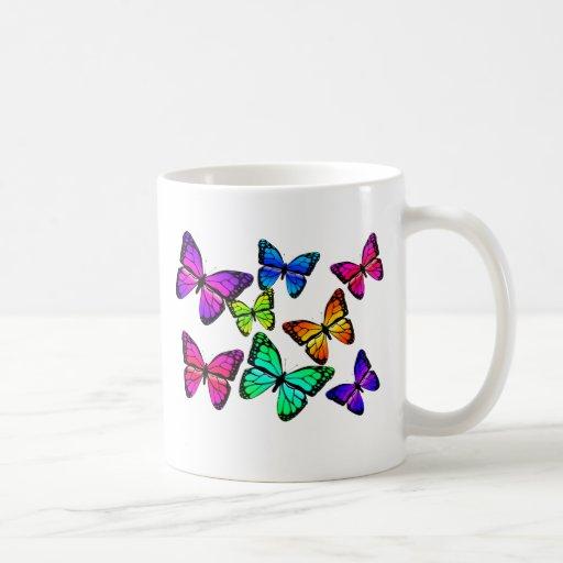 Taza de las mariposas