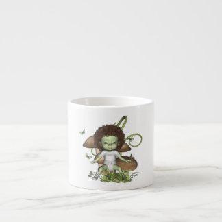 Taza de las mariposas de Ali del bebé del novicio Taza Espresso
