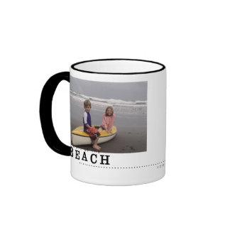 taza de las memorias de la playa