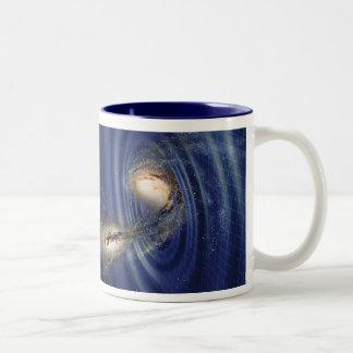 Taza de las ondas gravitacionales