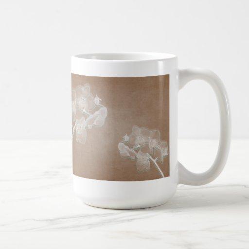 Taza de las orquídeas