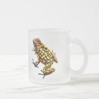 Taza de las ranas de la flecha del veneno