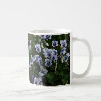 Taza de las violetas