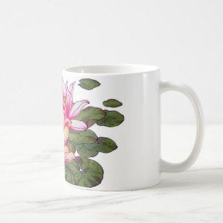 Taza de Lillies del agua