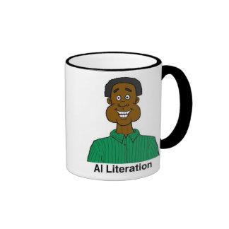 Taza de Literation del Al
