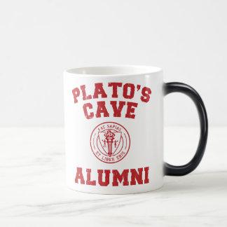 Taza de los alumnos de la cueva de Platón