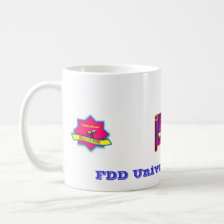 Taza de los alumnos de la universidad de FDD