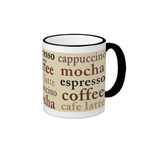Taza de los amantes del café