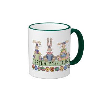 Taza de los amigos de la caza del huevo de Pascua