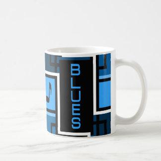Taza de los azules - elija el estilo y el color