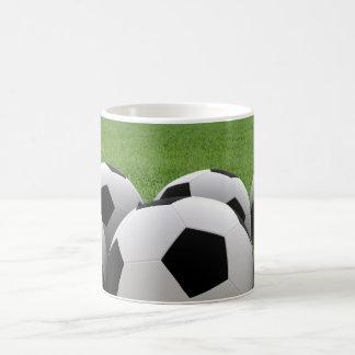 Taza de los balones de fútbol