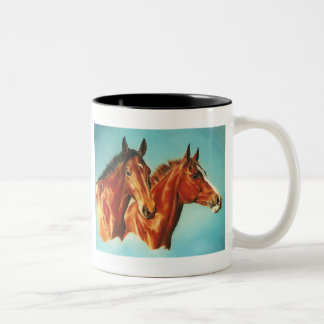 Taza de los caballos