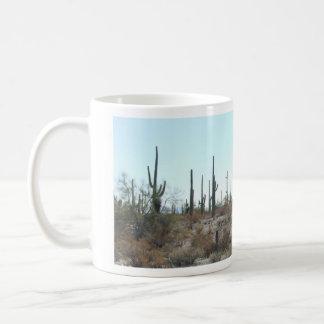 Taza de los cactus 01 del Saguaro