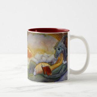 Taza de los cuentos del dragón