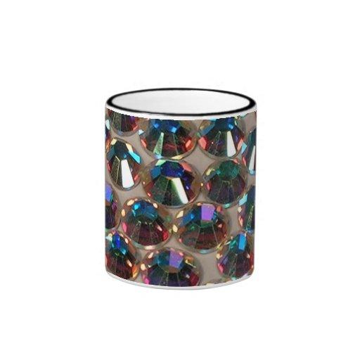 Taza de los diamantes artificiales