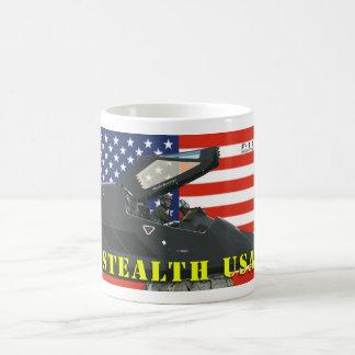 Taza de los E.E.U.U. de la cautela F-117