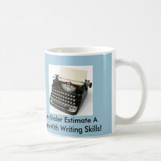 Taza de los escritores café o de té