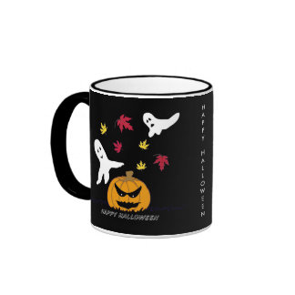 Taza de los espíritus necrófagos de Halloween