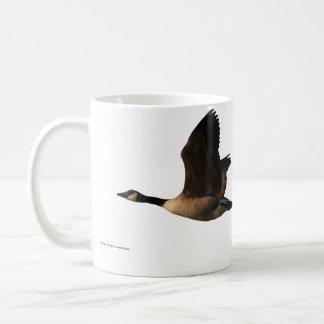 Taza de los gansos del vuelo