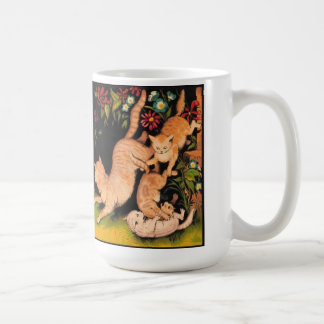 Taza de los gatos de la mermelada