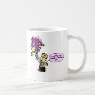 Taza de los genios de la taza de café