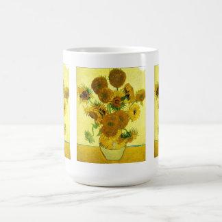 Taza de los girasoles de Van Gogh