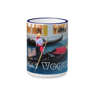 Taza de los gondoleros de Las Vegas Venecia