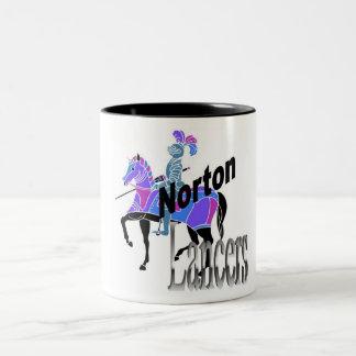 Taza de los lanceros de Norton