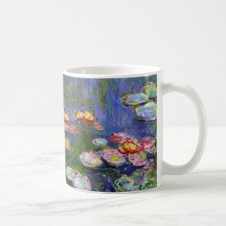 Taza de los lirios de agua de Monet 1916