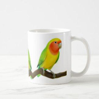 Taza de los Lovebirds