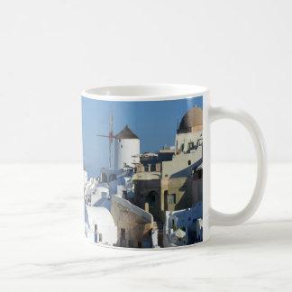 Taza de los molinoes de viento de Santorini