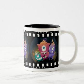 Taza de los monstruos de Lomo Fisheye