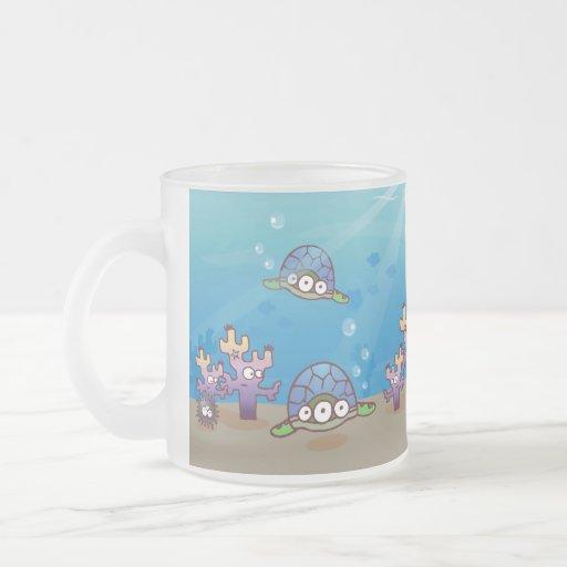 taza de los monstruos de mar de la monstruosidad