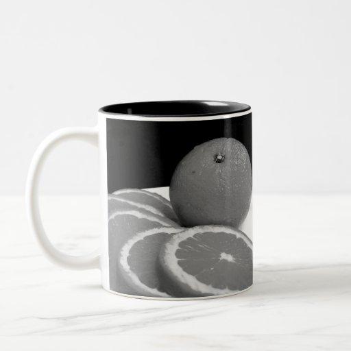 Taza de los naranjas - zurda