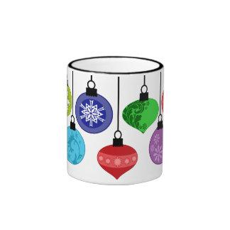 Taza de los ornamentos del navidad